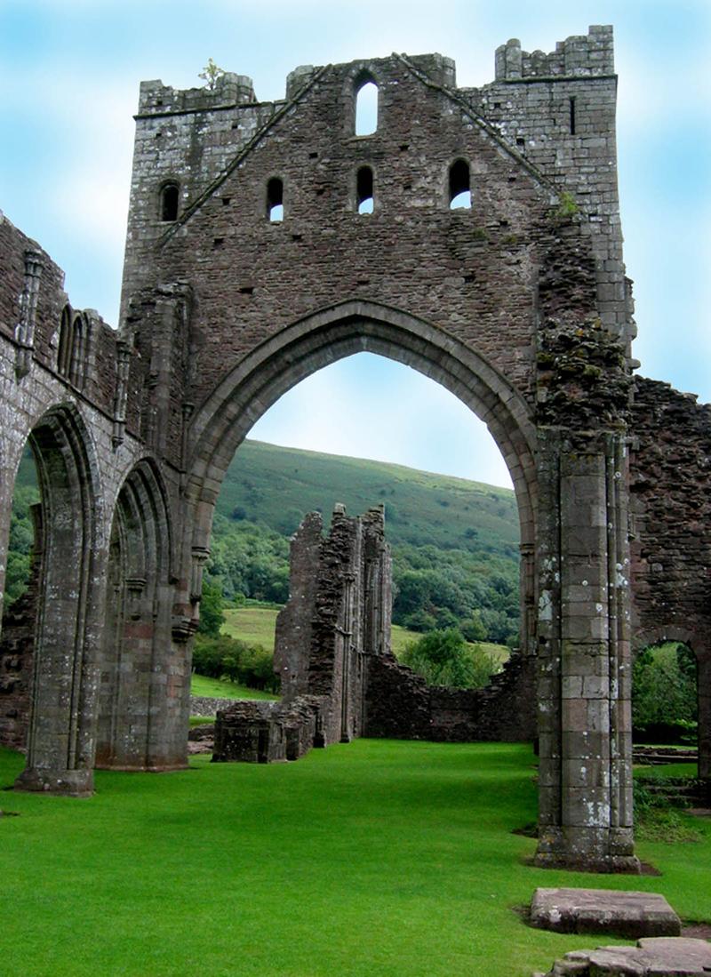Llanthony-Abbey-Wales